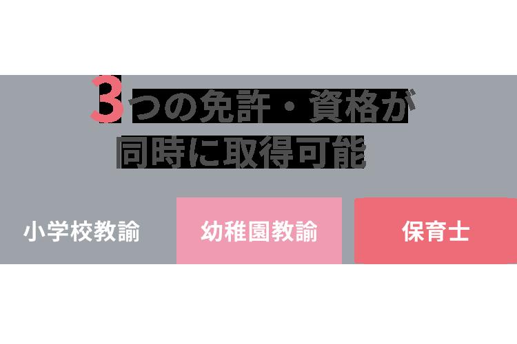 青森県内で唯一3つの免許・資格が同時に取得可能