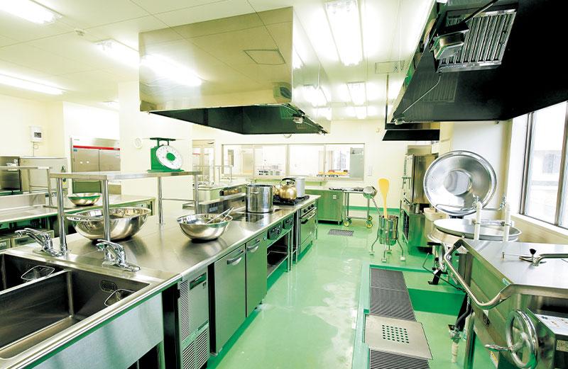 給食経営管理実習室