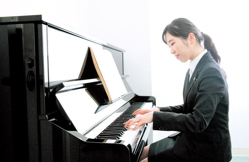 ピアノ練習室